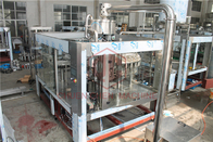 Rotary Type 3 In 1 Combi Automatic Liquid Filling Machine For Plastic Bottle