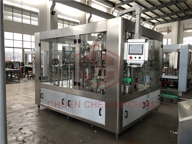 Mineral Water Bottle Filling Machine 3 In 1 With Lubricate System