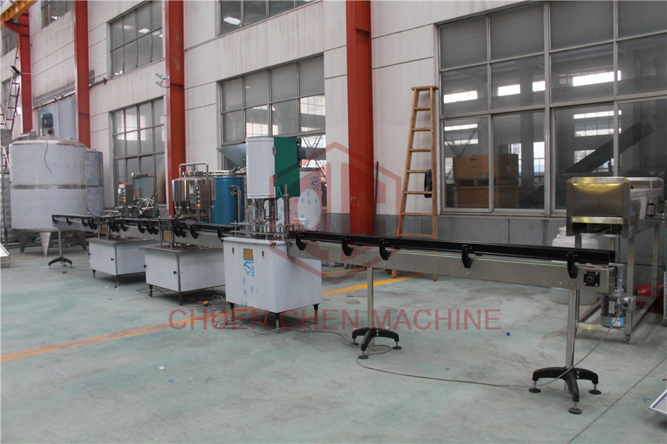 Mineral 330ml 2000ml Water Bottling Equipment CGF 24-24-24-8