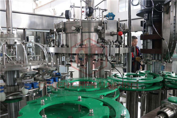Carbonated Drink Bottle Filling And Sealing Machine Fully Automatic