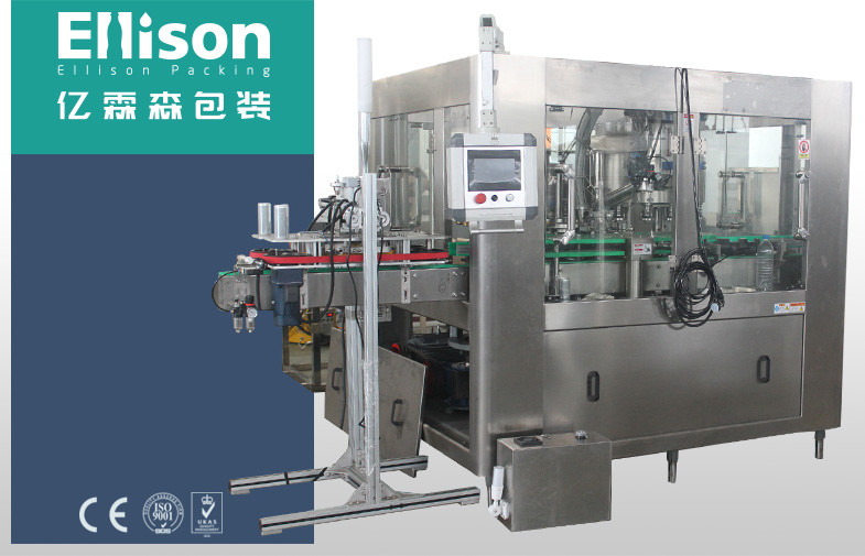 Aluminum Tin Can Filling Machine Carbonated Energy Drink Canning Filling Sealing Machine